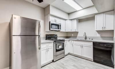 Kitchen, Spanish Oaks, 1