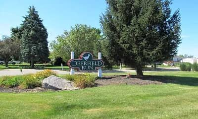 Community Signage, Deerfield Run, 2