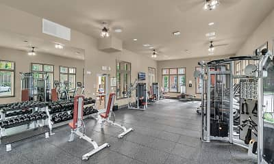 Fitness Weight Room, Station House at Lake Mary, 2