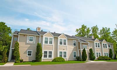 Building, Country Club Manor Apartments, 1