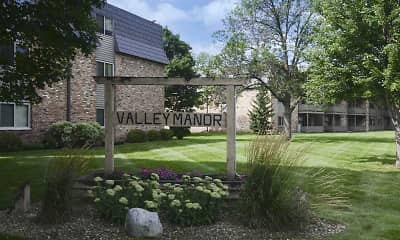 Community Signage, Valley Manor Apartments, 0