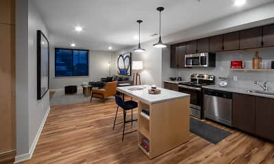 Kitchen, bos Apartments, 1