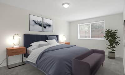 Bedroom, Fairmont Gardens Apartments, 2