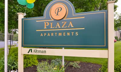 Community Signage, Plaza Apartments, 2
