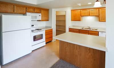 Kitchen, Garden View Townhomes, 1