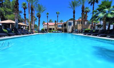Pool, Ladera Apartments at Green Valley, 0