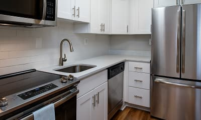 Kitchen, Latrobe Apartments, 1