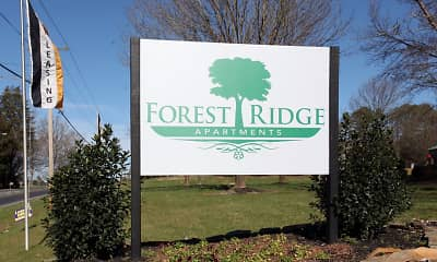 Community Signage, Forest Ridge, 2