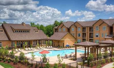Pool, Warrick Trail Apartments, 1
