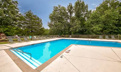 Pool, Greenmar Apartments, 0