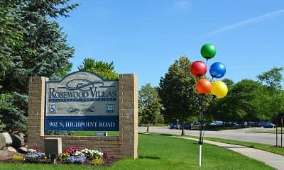 Community Signage, Rosewood Villas Senior Apartments, 0