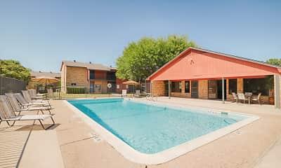 Pool, BAY COLONY APARTMENTS, 1