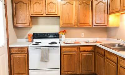 Kitchen, Town's Edge Apartments, 1