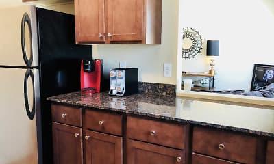 Kitchen, Granite City Apartments, 1