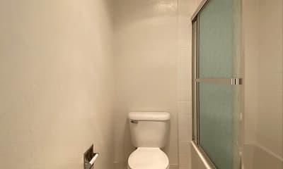 Bathroom, Valley West Apartments, 2