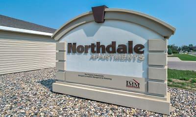 Community Signage, Northdale Apartments, 2