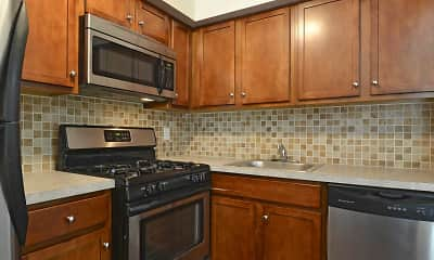 Kitchen, Twelve Trees Apartments And Townhomes, 1