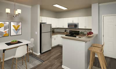 Kitchen, Westridge Apartments, 1