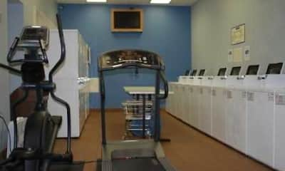 Fitness Weight Room, Dearborn Plaza Apartments, 2