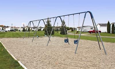 Playground, Creek Wood, 2