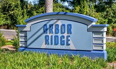 Community Signage, Arbor Ridge, 2