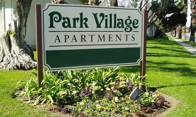 Community Signage, Park Village Apartments, 2