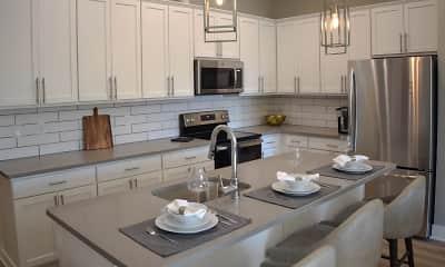 Kitchen, Cedar Valley Luxury Apartments, 0
