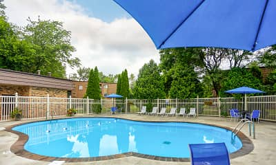 Pool, Aspen Pines Apartments, 1