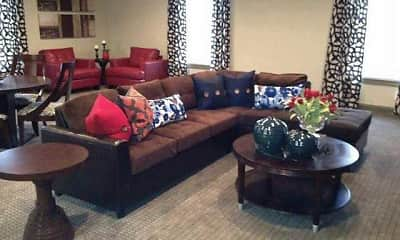 Living Room, Highland Hills, 1
