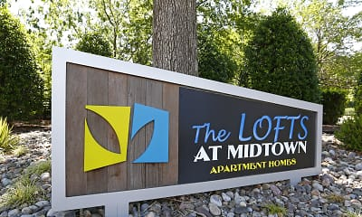 Community Signage, Lofts at Midtown, 0