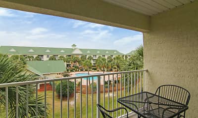 Patio / Deck, Cayo Grande Apartments, 2