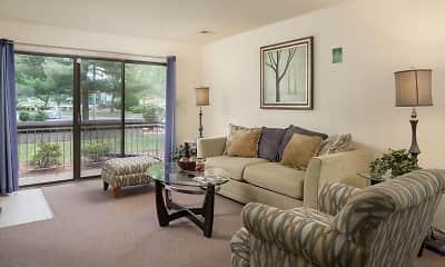 Living Room, Hempstead Garden Apartments, 1