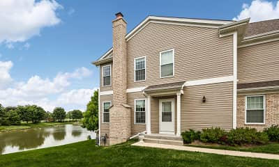 Building, Princeton West Townhomes, 1