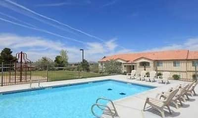 Pool, Four Hills Apartments, 1
