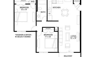 Ballantrae Apartments, 1