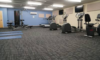 Fitness Weight Room, Radcliff House, 2
