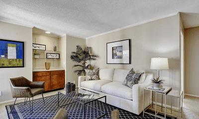 Living Room, Silver Oaks, 0