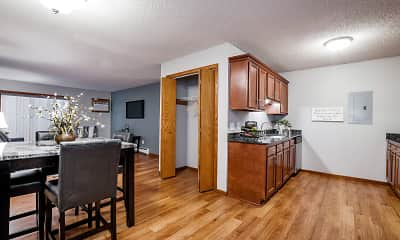 Kitchen, Mill Pond Apartments, 0