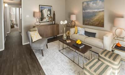 Living Room, Vicino Apartment Homes, 1