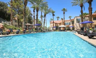 Pool, Ladera Apartments at Green Valley, 1
