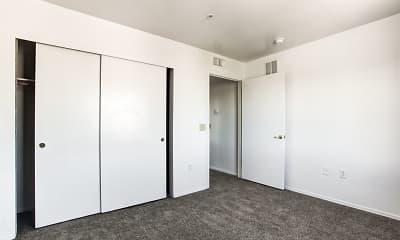 Bedroom, Willcox Townhomes, 2