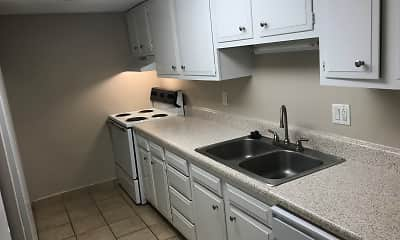 Kitchen, Meadowood Apartments, 2