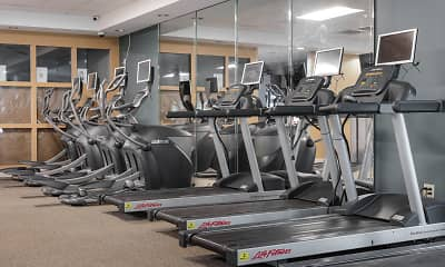 Fitness Weight Room, The Drake, 2