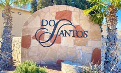 Community Signage, Dos Santos, 0