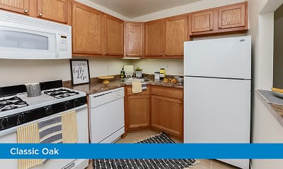 Kitchen, Parkview at Collingswood, 1