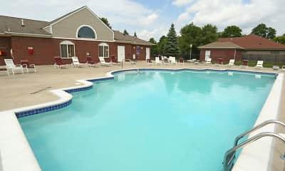 Pool, Blackberry Creek Village, 1