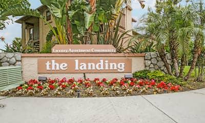 Community Signage, The Landing, 1