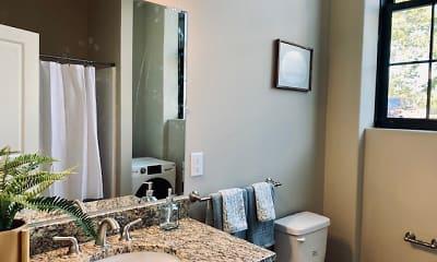 Bathroom, Moore Mill Lofts, 1