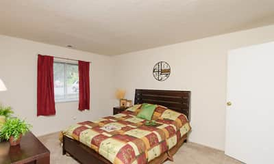 Bedroom, Walnut Creek Apartments, 2