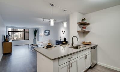 Kitchen, Laurel Village, 1